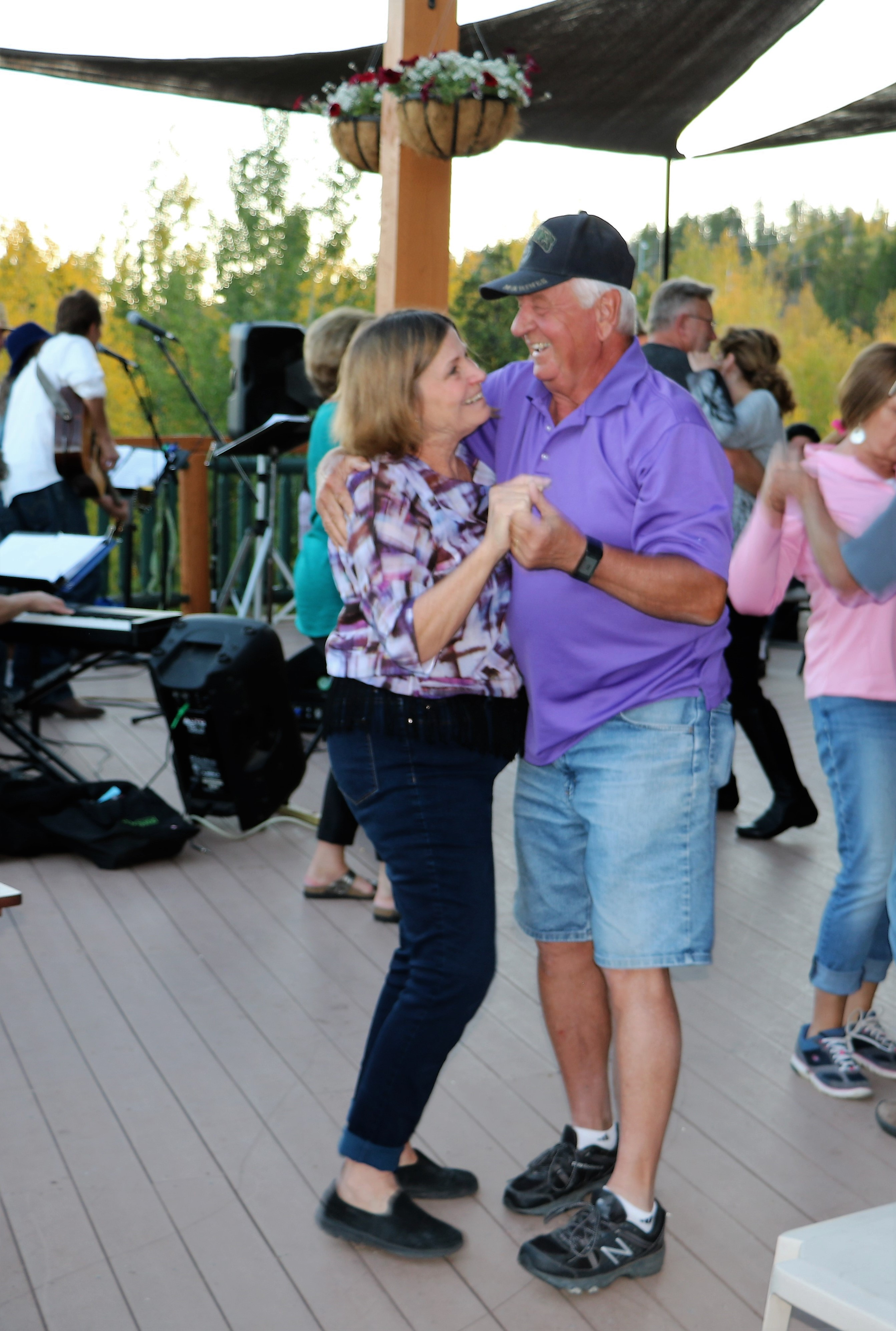 Dance on the Lounge Deck