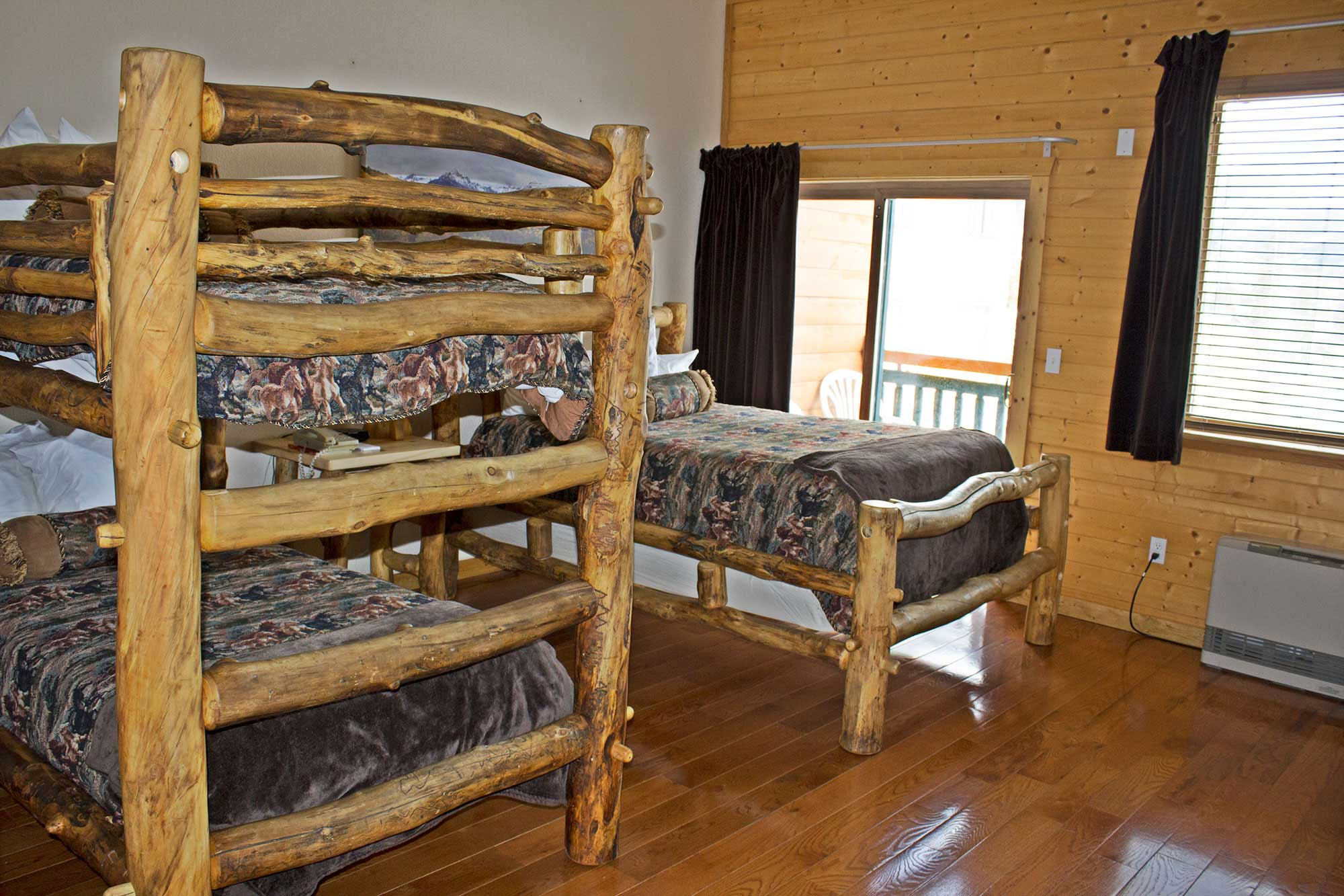 Family Bunk Bed Balcony